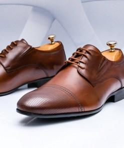 Pantofi eleganti Piele maro Jonioli-rl