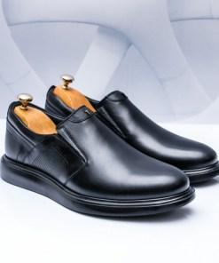 Pantofi Piele barbati negri Legomi-rl