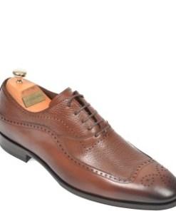 Pantofi LE COLONEL maro, 48741, din piele naturala