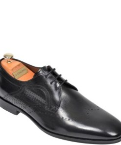 Pantofi LE COLONEL negri, 327104, din piele naturala