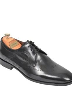 Pantofi LE COLONEL negri, 48716, din piele naturala