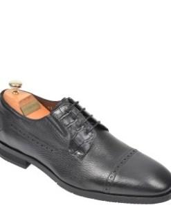 Pantofi LE COLONEL negri, 48731, din piele naturala
