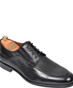 Pantofi LE COLONEL negri, 62410, din piele naturala