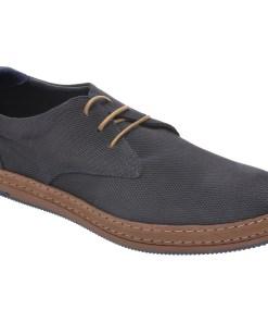 Pantofi OTTER bleumarin, M5511, din nabuc