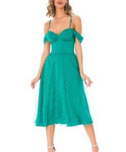 Rochie midi dama BBY verde