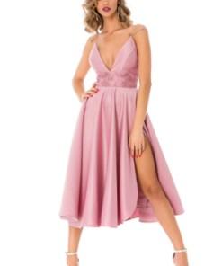 Rochie midi BBY roz