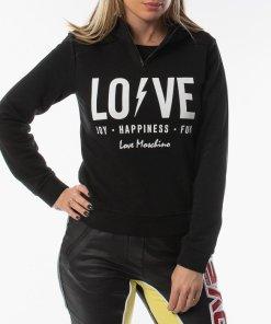 Love Moschino Lightning Logo Hoodie 6398-4165 C74