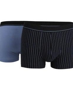 2 pack boxeri barbatesti bugatti Paris, albastru si dungat