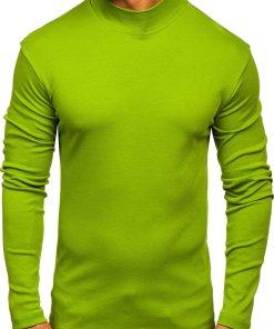 Helancă bărbați verde-deschis Bolf 145348