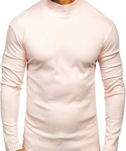 Helancă bărbați roz-deschis Bolf 145348