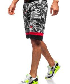 Pantaloni scurți gri bărbați Bolf KK300152