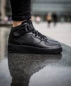 sneakersi pentru barbati Nike Air Force 1 Mid '07 315123 001