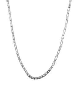 Lant barbati din argint cu zale tip caramida, lungime 55 cm