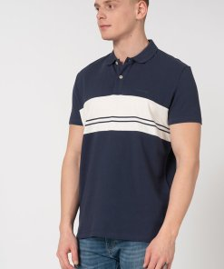Tricou polo regular fit Lees