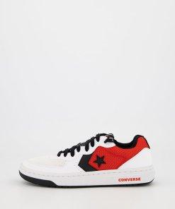 Pantofi sport unisex de piele ecologica - cu insertii de plasa Rival