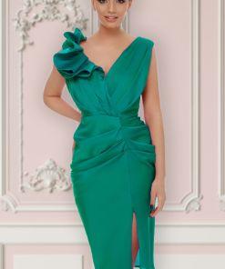 Rochie de ocazie verde Miss Grey