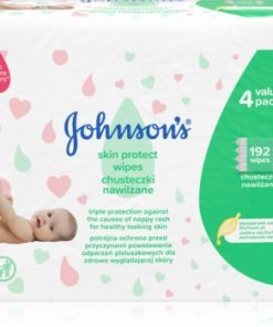 Johnson's Baby Skin Protect servetele delicate pentru copii