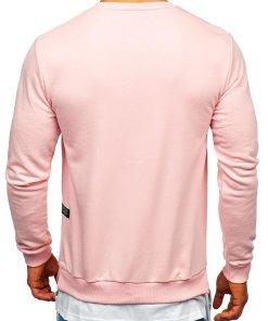 Bluză cu imprimeu bărbați roz Bolf 11114