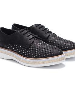 Pantofi dama Mattie cu aplicatii Negru