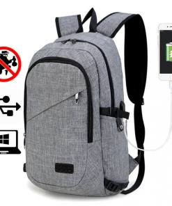 Rucsac barbati Smart laptop Sorin Gri
