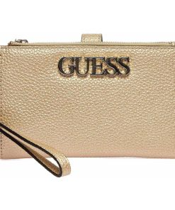 """GUESS Wallet """"Uptown chic"""" Gold"""