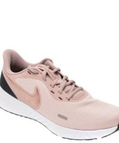 Pantofi sport NIKE roz, Revolution 5, din material textil