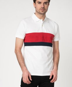 Tricou polo slim fit din bumbac organic 2578280