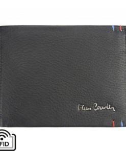 Portofel barbati din piele naturala Pierre Cardin GPB424 - cu Protectie RFID Negru