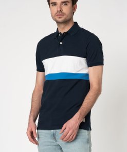 Tricou polo slim fit din bumbac organic 2578273