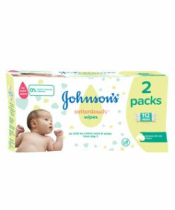 Servetele umede Johnson's Baby cotton touch 2x56 bucati