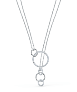 Colier STONE:NECKLACE CHAIN CRY/RHS - 5512604