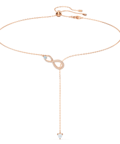Colier SWA INFINITY:NECKLACE Y INF CRY/CZWH/ROS - 5521346