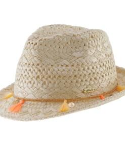 chillouts Pălărie 'Formosa' bej / portocaliu