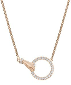 Colier SWA SYMBOL:NECKLACE HAND CRY/ROS - 5489573