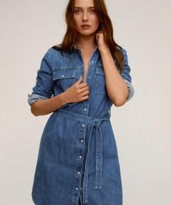 Mango - Rochie jeans Sharon UPYK-SUD02O_56X