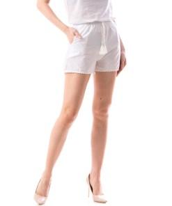 Pantaloni Scurti Dama Acsy38 Alb