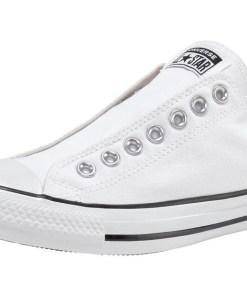 CONVERSE Sneaker low 'CHUCK TAYLOR ALL STAR SLIP - SLIP' negru / alb