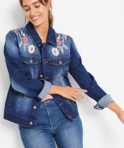 Geacă de blugi, design Maite Kelly - albastru