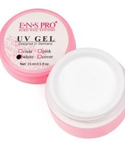 Gel Constructie Unghii UV ENS PRO 15 ml White French - Alb