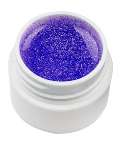 Gel UV Color cu Sclipici ENS PRO #007 - Purple Gem