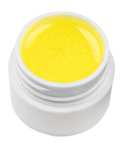 Gel UV Color cu Sclipici ENS PRO #020 - Sparkling Yellow