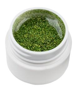 Gel UV Color cu Sclipici ENS PRO #026 - Green Haven