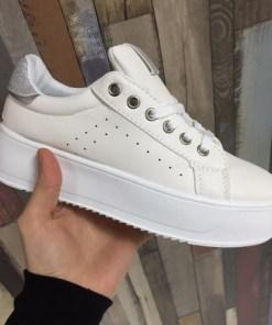 Pantofi sport Caitie albi -rl
