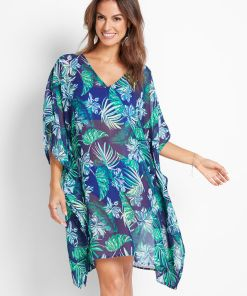 Rochie de plajă - albastru