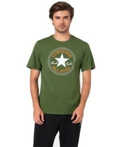 Tricou barbati Converse cu imprimeu logo Chuck Taylor 10007887-323