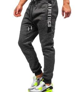 Pantaloni de trening negri Bolf TC512