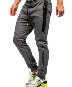 Pantaloni de trening gri Bolf TC951