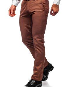 Pantaloni chinos maro barbati Bolf KA1786P