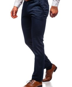 Pantaloni chinos bleumarin barbati Bolf KA1786P