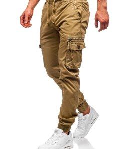 Pantaloni cargo camel barbati Bolf CT6702